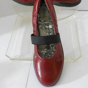 SOFT WALK Shoes - SOFT WALK BURGUNDY LEATHER SHOES SIZE 10.5 MEDIUM